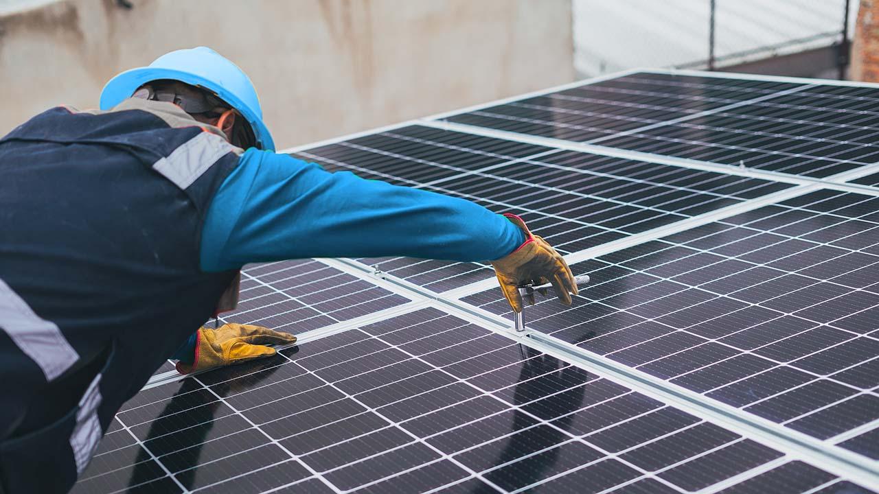 Montering solceller